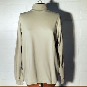 Lands End sage green long sleeve turtleneck 3X